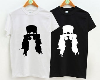 e5364800 Slash Silhouette, Slash, Slash Guns N Roses, Slash TShirt, Unisex Adult  Clothing, Hypebeast, Streetwear