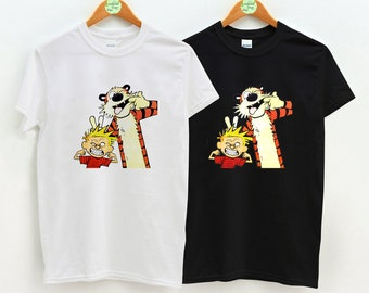 0a762b65e335 Calvin and Hobbes, Calvin and Hobbes Comic Strip, Calvin and Hobbes Tshirt,  Unisex Adult Clothing, Hypebeast, Streetwear