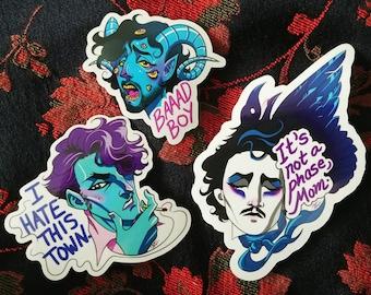 Cesare the Drag Prince sticker bundle