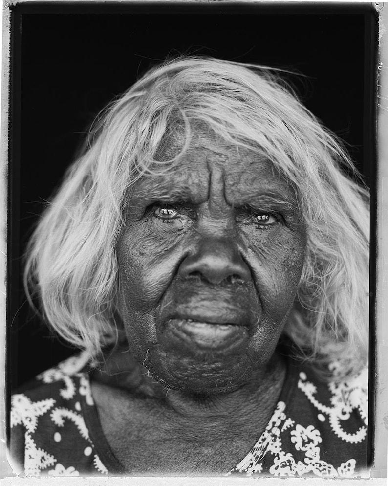 Eunice Hand printed sewing Ikuntji Artists Kuruyultu patchwork Fabric Length Fabric 1 m Aboriginal Art Australia Linen