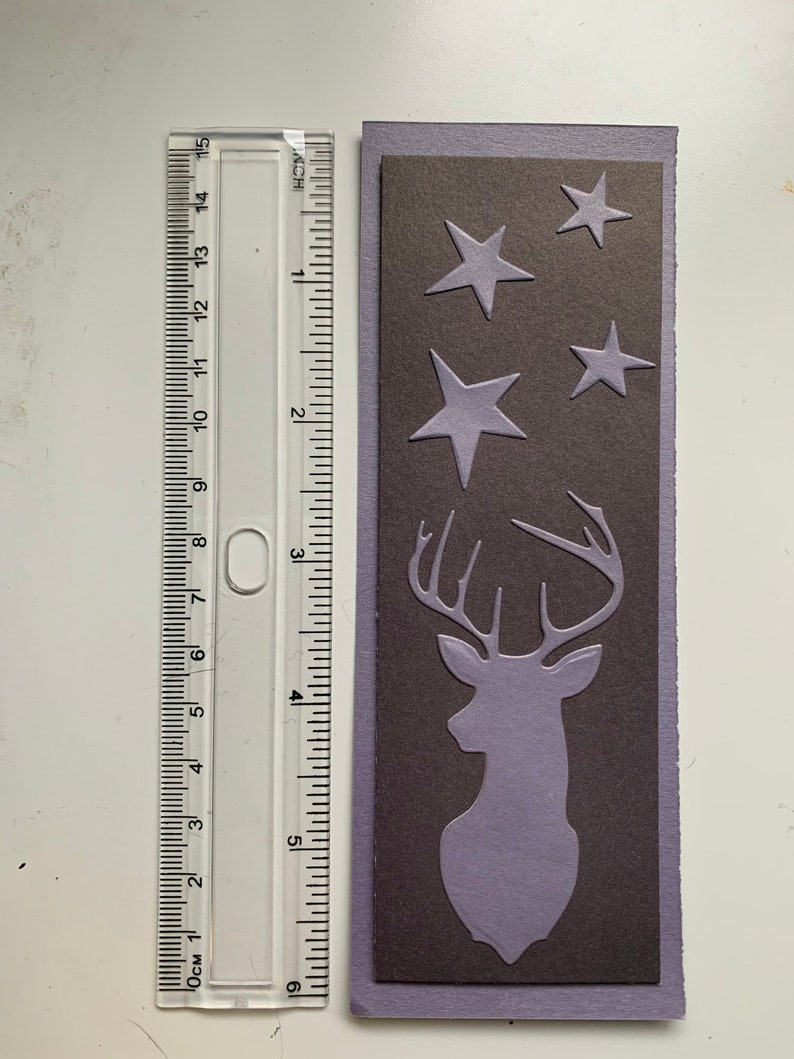 Stag /& Stars Bookmark