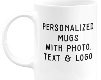 decba126684 Coffee Mug Personalized- ADD Photo