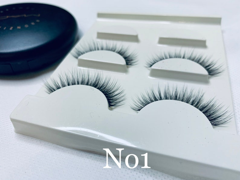 b0bb233ff71 Michelle Ninh 3D False Eyelashes Hand-made Glamarous and | Etsy