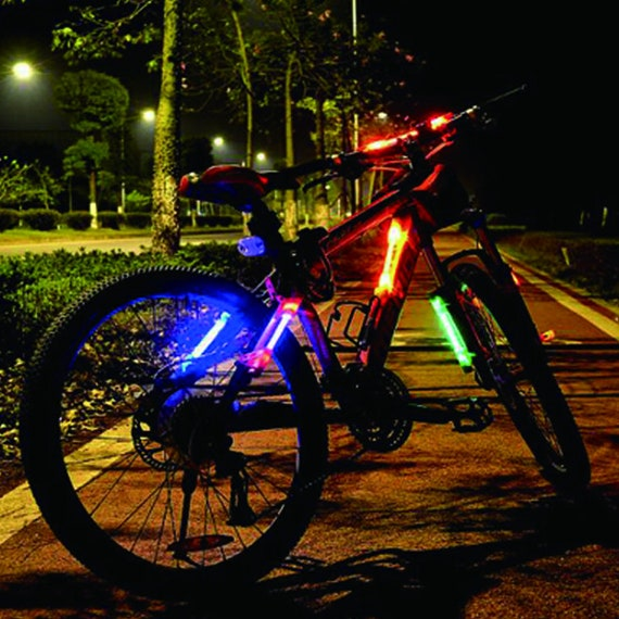 LED Clip on Cycling Sport Light Key Ring Running Bike Rear Lamp Safety Warning