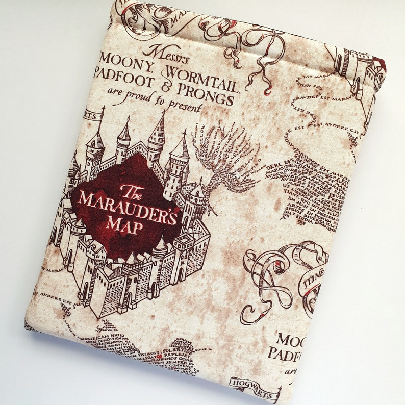 Marauders Map Book Sleeve image 0