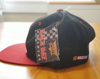 35e7fdebfc742 Classic Vintage 1990s RCR 3 Nascar Snapback hat - Deadstock