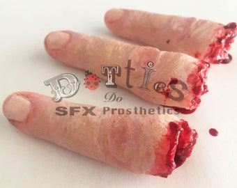 Pack of 3 Unpainted Silicone Prosthetic fingers