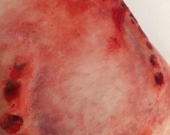 Bite Me 3 pack Unpainted Silicone Prosthetic, fang bites  / vampire bite