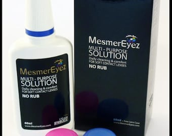 Eyewear Care Kit (60ml Solution boxed with lens case and instructions)