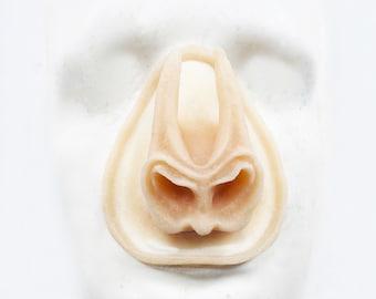 Unpainted Silicone Prosthetic Bat style nose
