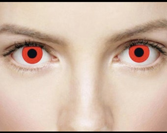 Bloody Red Contact Lenses