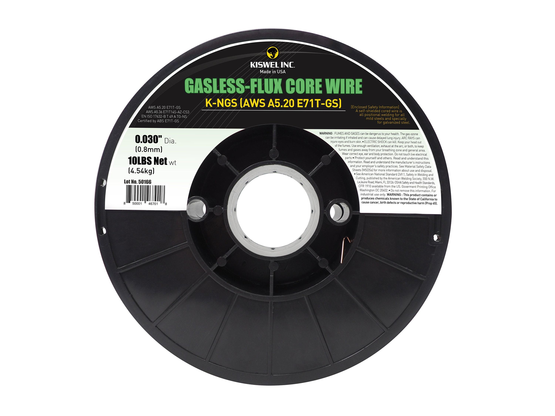 E71T-GS .030 in Dia 10lb Gasless-Flux Core Welding wire