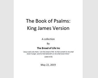 King james bible pdf | Etsy