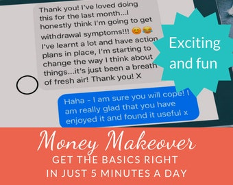 Money Makeover:  Get the basics right in just 5 minutes a day