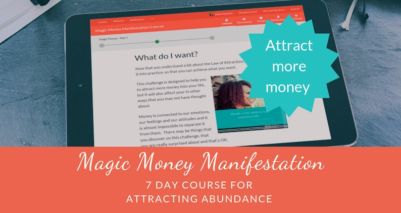 Magic Money Manifestation: A 7 day course for attracting abundance