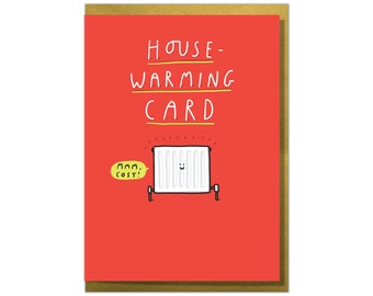 House-Warming Card. Funny New Home Card