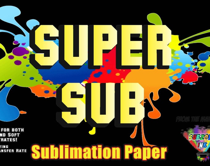 Super Sub Sublimation Paper (50 Sheet Pack) 13×19 inches