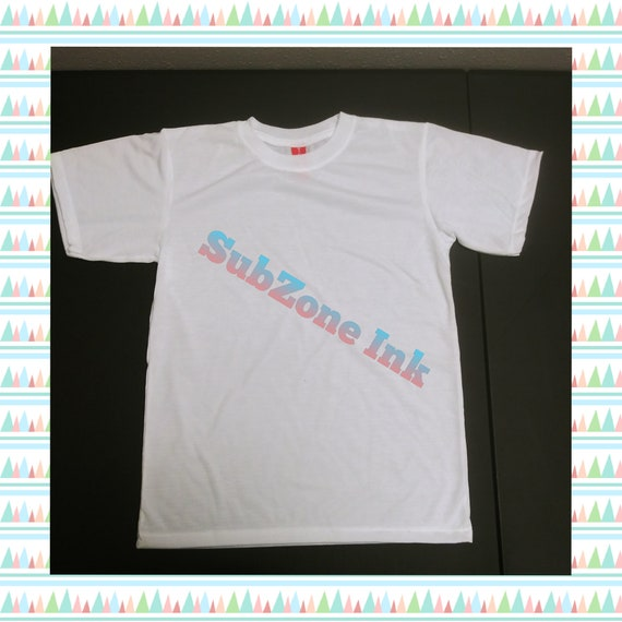 Youth Sublimation T-Shirt (100% Polyester/Blank)