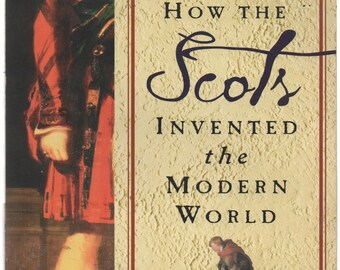 How The Scots Invented The Modern World by Arthur Herman, 2001, Paperback, fair shape, Vintage, Adam Smith, Sir Walter Scott