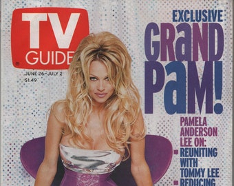 9fd2f8bd TV Guide June 26 - July 2 1999, Exclusive Grand Pam, Pamela Anderson Lee,  Johnny Whitaker, Chris Mathews, Will Smith