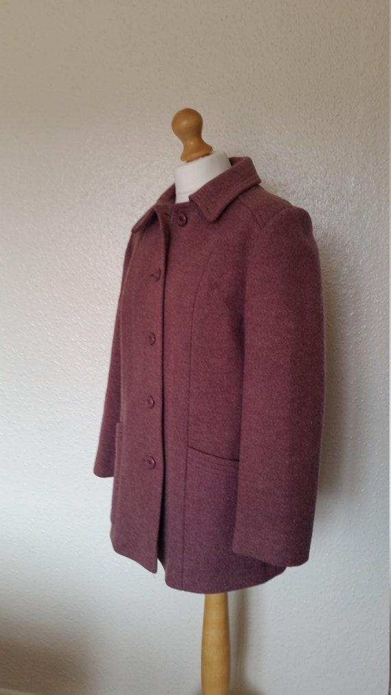 Pure vintage wool coat