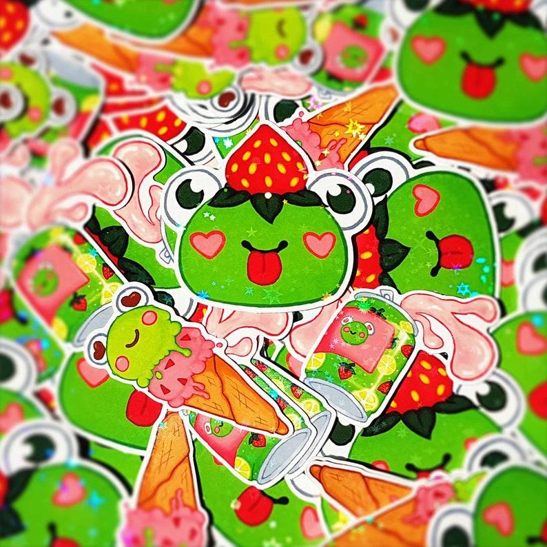 Frog Foods Sticker Pack image 0