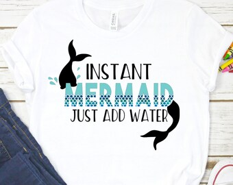 9970038e6ef9 Toddler Youth Mermaid Shirt