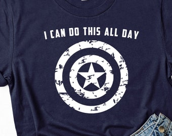 bf0ad2d6 Captain America shirt | Avengers Endgame Shirt | I Can Do This All Day | Infinity  War shirt | Marvel Shirt | Whatever it takes shirt