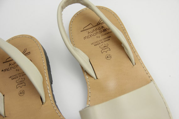 Traditional Menorcan Leather Slingback Men's Sand… - image 8