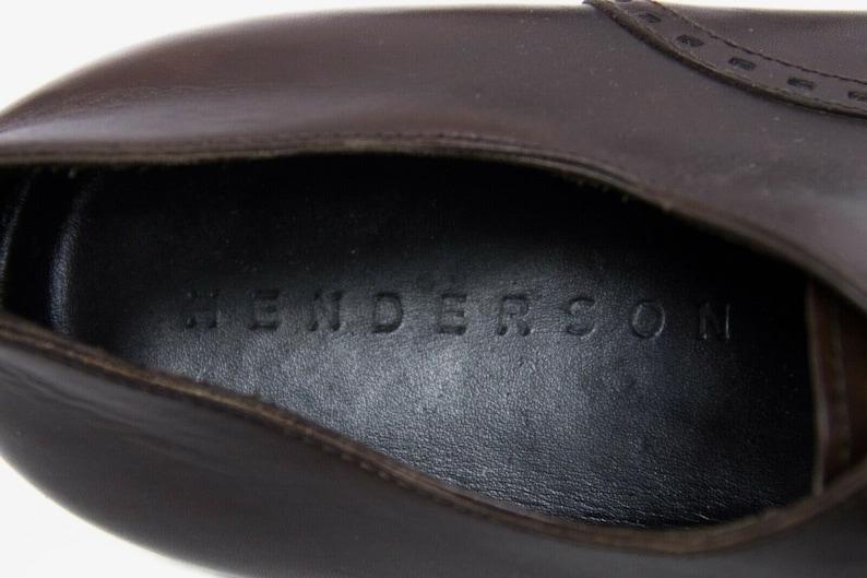 UK 11 Henderson Men/'s Cap Toe Oxford Shoes SIZE 45 USA 12