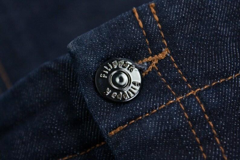 FILIPPA K Pencil Denim Skirt with Rear Split SIZE XS