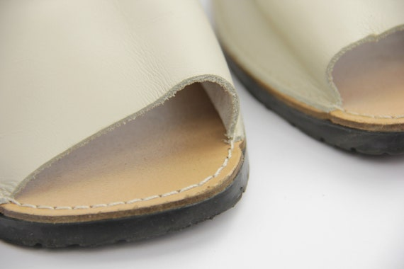 Traditional Menorcan Leather Slingback Men's Sand… - image 7