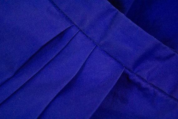 "ACNE ""Moholy"" blue draped skirt, S - image 5"