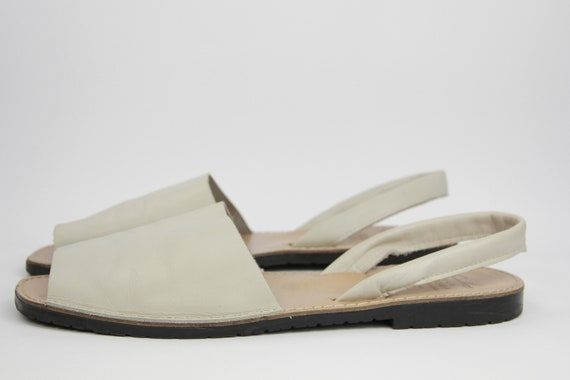Traditional Menorcan Leather Slingback Men's Sand… - image 4