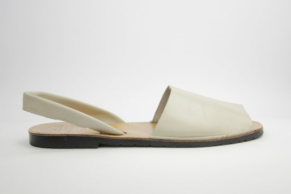 Traditional Menorcan Leather Slingback Men's Sand… - image 3