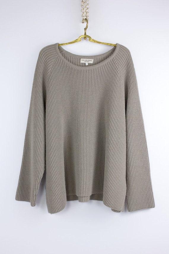 IVAN GRUNDAHL Wool Oversized Lagenlook Jumper, M