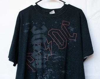 5378e55e Vintage ACDC Black Shirt