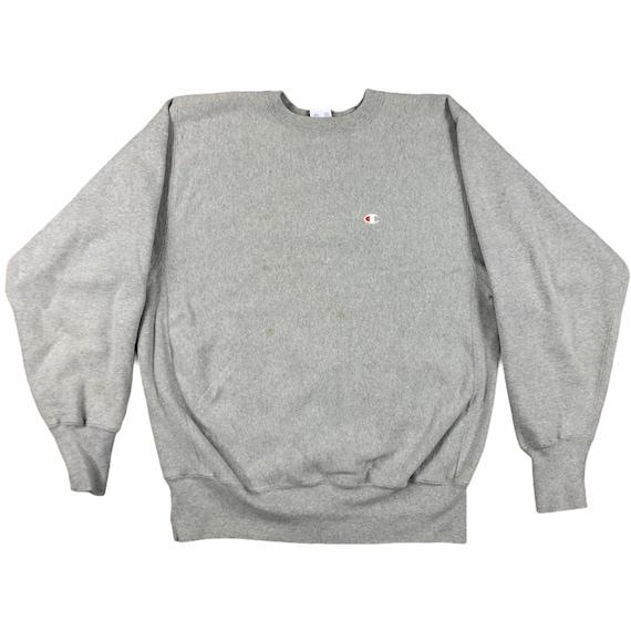 Vintage  1980s Gray Champion Reverse Weave Sweatsh