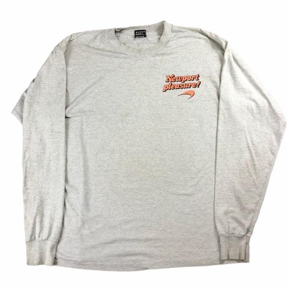 Vintage 90s Newport Pleasure Long Sleeve Shirt Siz