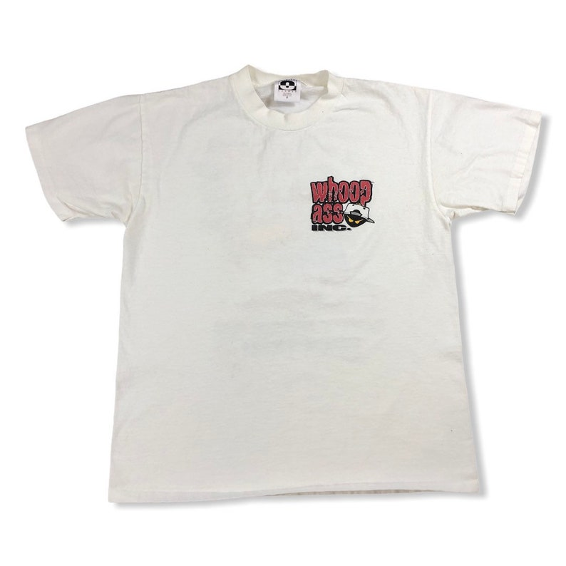 Vintage 1990 Can Of Whoop Ass T-shirt