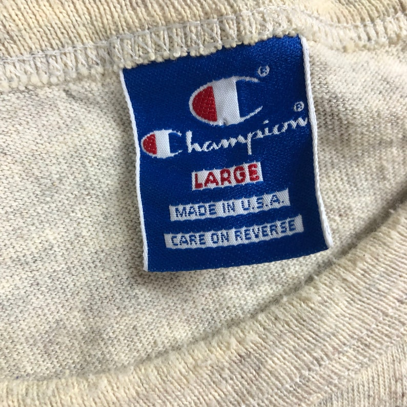 Vintage 1980s Champion Mini Logo T-shirt