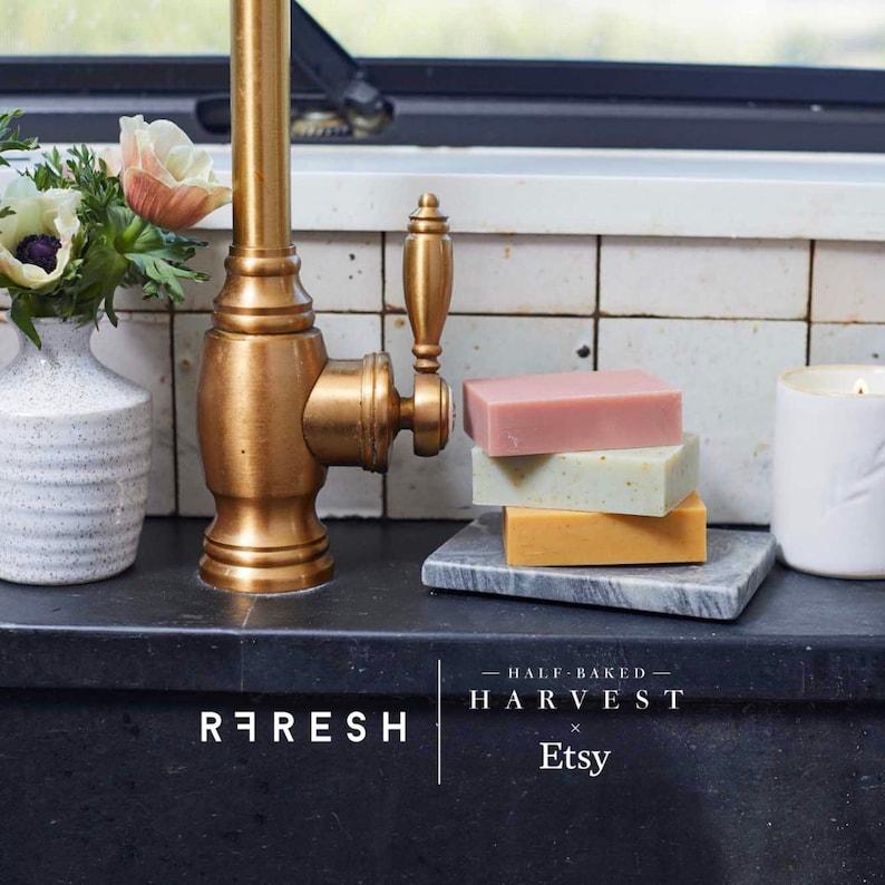 Half Baked Harvest x Etsy x RFRESH Botanical Soap Set  Vegan image 0