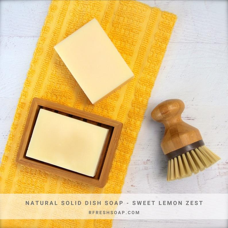 Solid Dishwashing Soap   Natural Solid Dish Soap by RFRESH  image 0