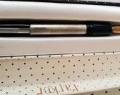 PARKER DUOFOLD Senior 1950 Blue Aerometric Made in England 14K Gold Nib Celluloid Fountain Pen