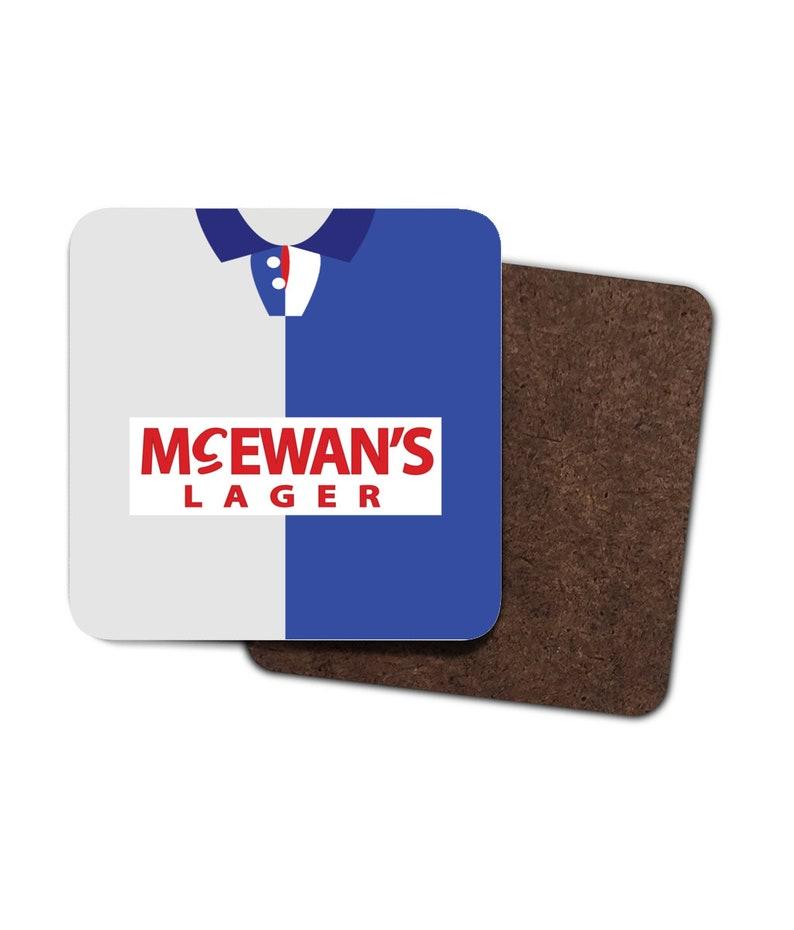 Blackburn 94-95 Home Shirt Coaster Pack