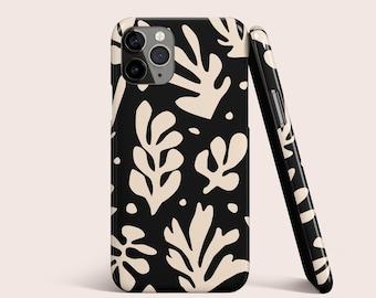 S7 S8 S9 Plus Note J7 J5 A71 A51 Google Pixel iPhone 12 Pro Max,iPhone 11 8 7 Samsung S21 S10 S20 S10 Matisse Leaf La Gerbe Phone Case