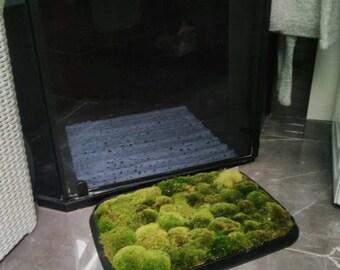 Moss Bath Mat Etsy