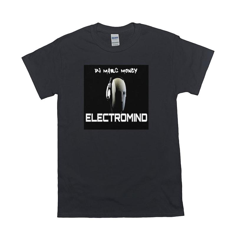 Electromind Album T-Shirt By Dj Marc Money image 0