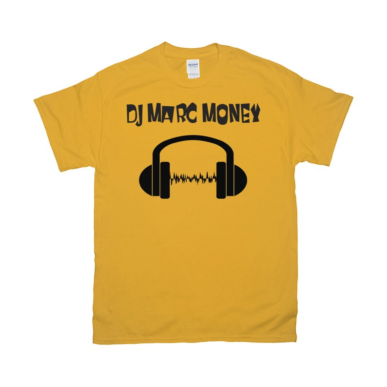 The Dj Tee By Dj Marc Money image 0
