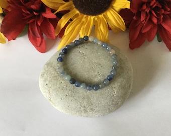 Blue Aventurine, Healing Bracelet.